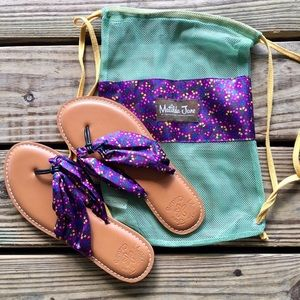 Brand New Matilda Jane Toes in the Sand Sandals 7